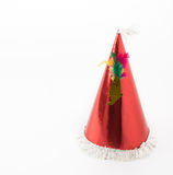 Party hat. On white background royalty free stock image