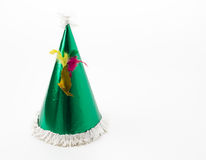 Party hat. On white background royalty free stock images