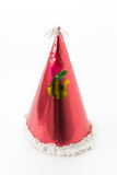 Party hat. On white background stock photography
