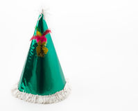 Party hat. On white background stock photos