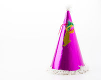 Party hat. On white background stock photo