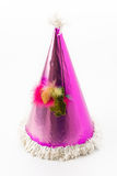 Party hat. On white background royalty free stock photography