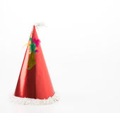 Party hat on white. Background stock image