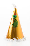 Party hat on white. Background stock photo