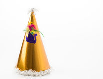 Party hat. On white background stock images