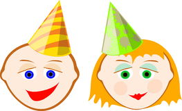 Party hat1 Stock Photo