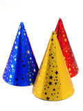 Party Hats. Isolated royalty free stock image