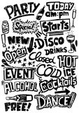 Party Headlines Royalty Free Stock Image
