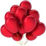 Party helium balloons (Hi-Res) Stock Photography