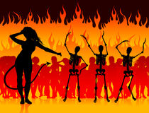 Party in Hell Royalty Free Stock Image
