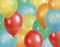 Party Hinauftreiben von Aktienkursen Hintergrund Lizenzfreie Stockfotografie