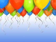 Party Hinauftreiben von Aktienkursen Hintergrund Lizenzfreie Stockfotos