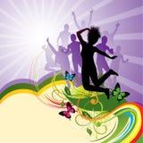 Party-Hintergrund stock abbildung