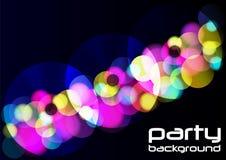 Party-Hintergrund Lizenzfreie Stockfotos