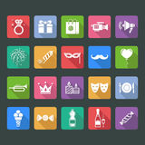 Party and holiday icon Stock Image