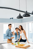 Party Home. Friends Taking Selfie, Celebrating Holiday. Friendsh Royalty Free Stock Images