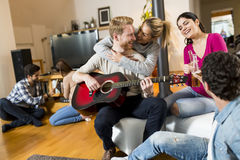 Party at home Royalty Free Stock Images
