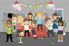 Party at home. Stock Images