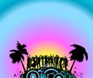 Party i danzatori royalty illustrazione gratis