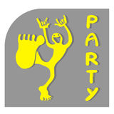 Party icon Stock Image