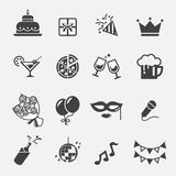 Party icon vector illustration