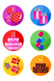 Party Icons Stock Photos