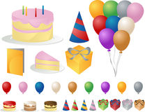 Party icons Stock Images