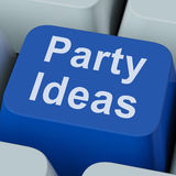Party Ideas Key Shows Celebration Planning Suggestions Stock Photography