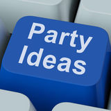 Party Ideas Key Shows Celebration Stock Photo