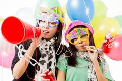 Party il tempo Fotografie Stock Libere da Diritti