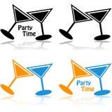 Party il tempo royalty illustrazione gratis