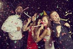 Party il tempo fotografia stock libera da diritti