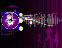 Party illustration Royalty Free Stock Photography