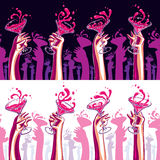 Party illustration Stock Photography