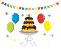 Party illustration Royalty Free Stock Photo