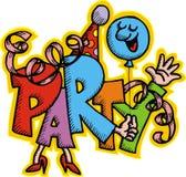 Party illustration Stock Photo