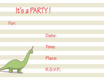 Party invitation Stock Photos