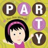 Party Invitation Royalty Free Stock Image