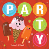 Party Invitation Stock Photo
