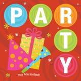 Party Invitation Royalty Free Illustration