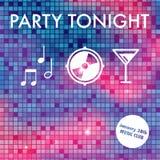 Party invitation Royalty Free Stock Photo