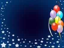 Party invitation background Stock Image