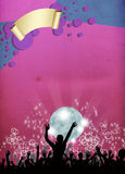 Party invitation background Royalty Free Stock Image