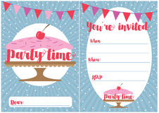 Party invitation Royalty Free Stock Photo