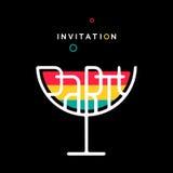 Party Invitation Stock Photography
