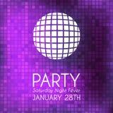 Party invitation Royalty Free Stock Photography