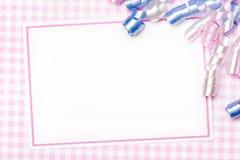 Party invite Stock Photos