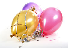 Party items. Royalty Free Stock Photos