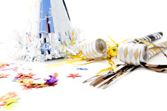 Party items for celebrating stock photography