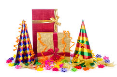 Party items Royalty Free Stock Photo